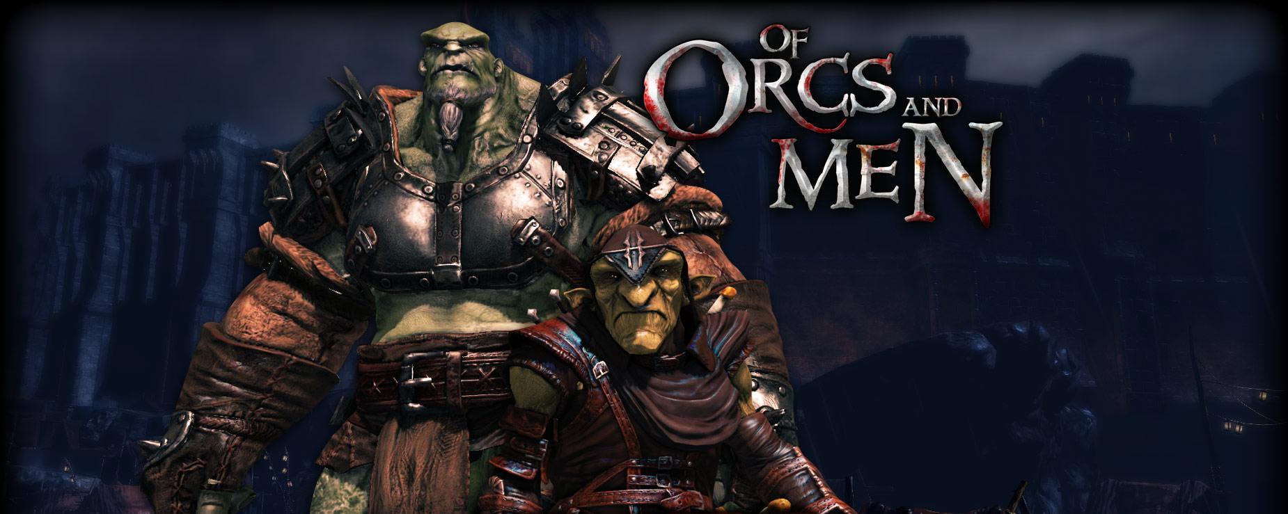 of orcs and men logo