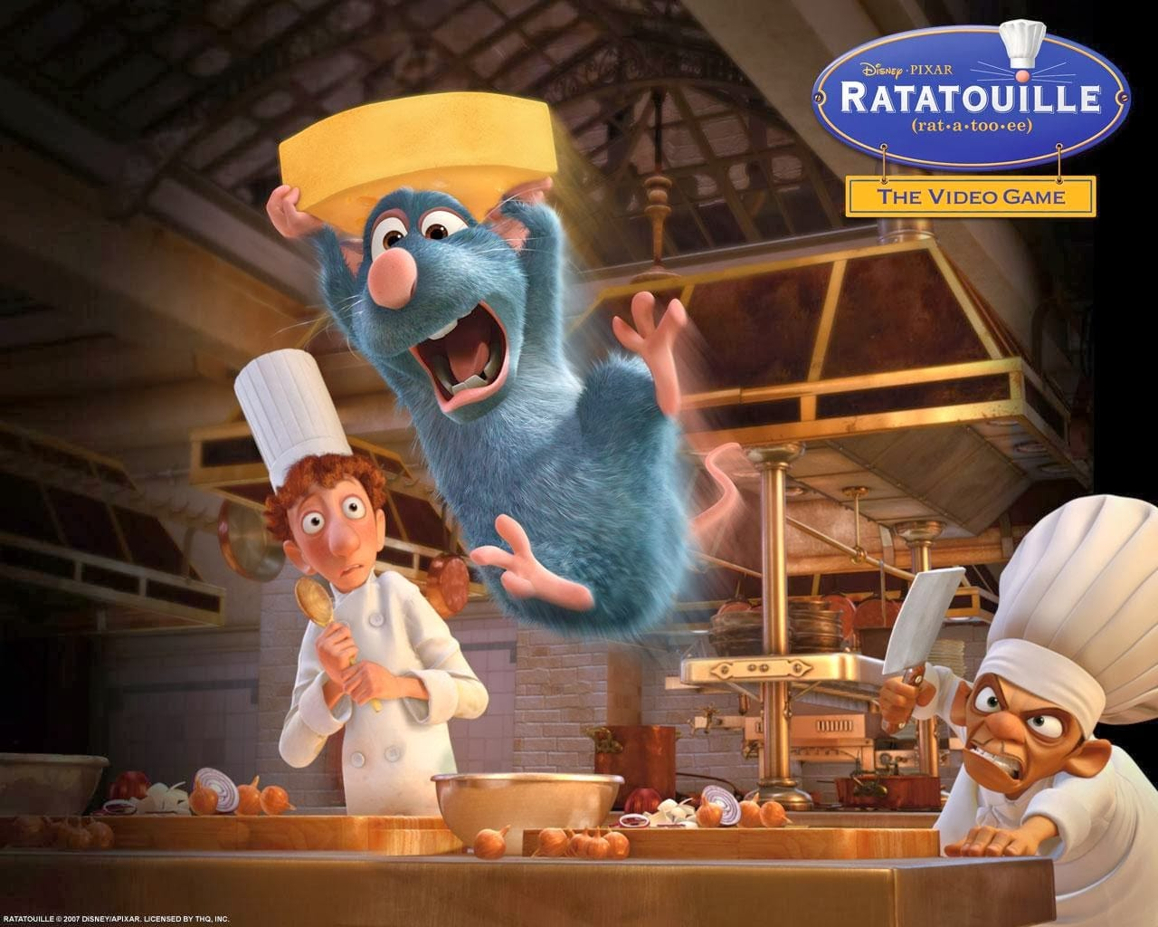 Ratatouille PC Game Free Download, Ratatouille PC Game Free Download