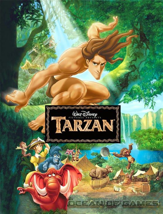 Tarzan-PC-Game-Free Download