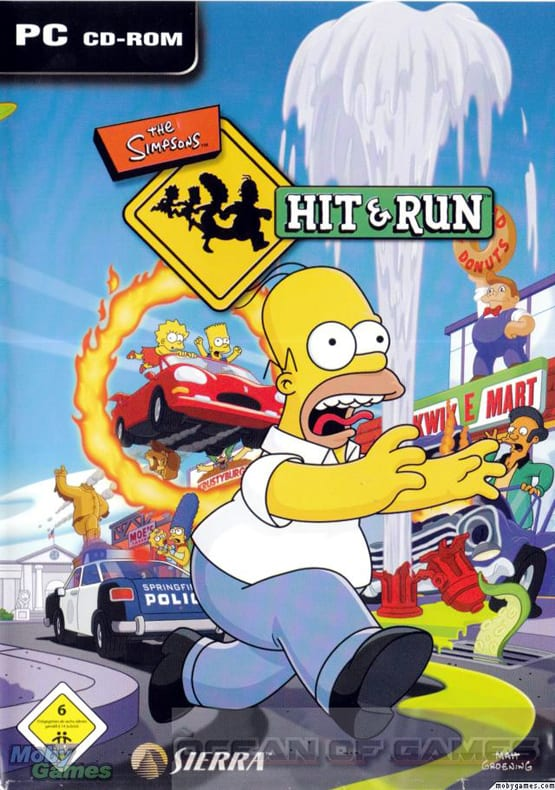 The Simpsons Hit and Run Free Download, The Simpsons Hit and Run Free Download