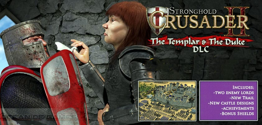 Stronghold Crusader 2 The Templar and The Duke PC Game Free Download, Stronghold Crusader 2 The Templar and The Duke PC Game Free Download
