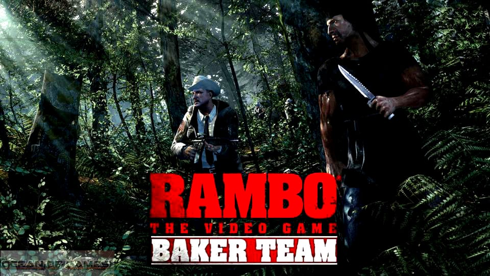Rambo The Video Game Baker Team Free Download, Rambo The Video Game Baker Team Free Download