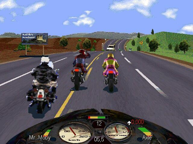 Road Rash PC Game Setup Free Download