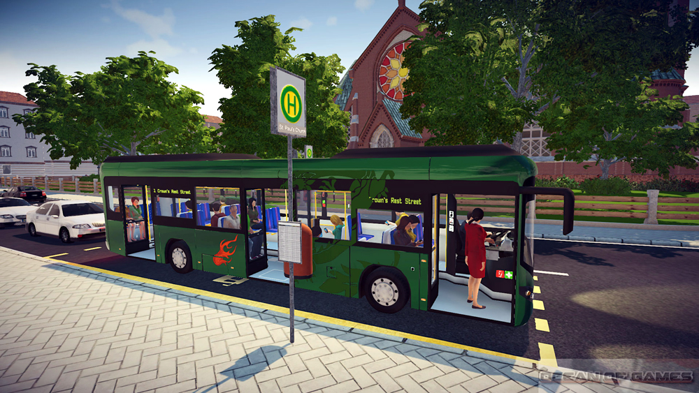 Bus Simulator 16 Setup Free Download