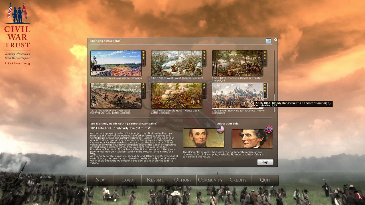 Civil War II The Bloody Road South Setup Free Download