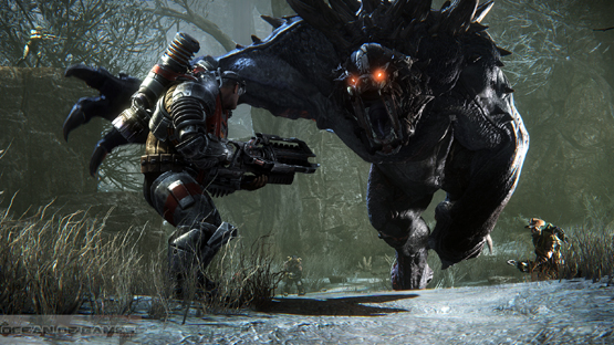Evolve PC Game 2015 Free Download