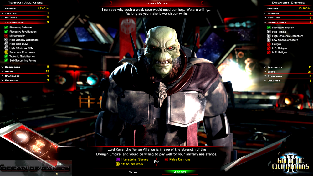 Galactic Civilizations III Features