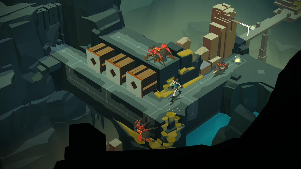 Lara Croft GO Features