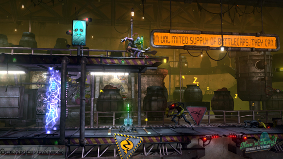 Oddworld New and Tasty Features