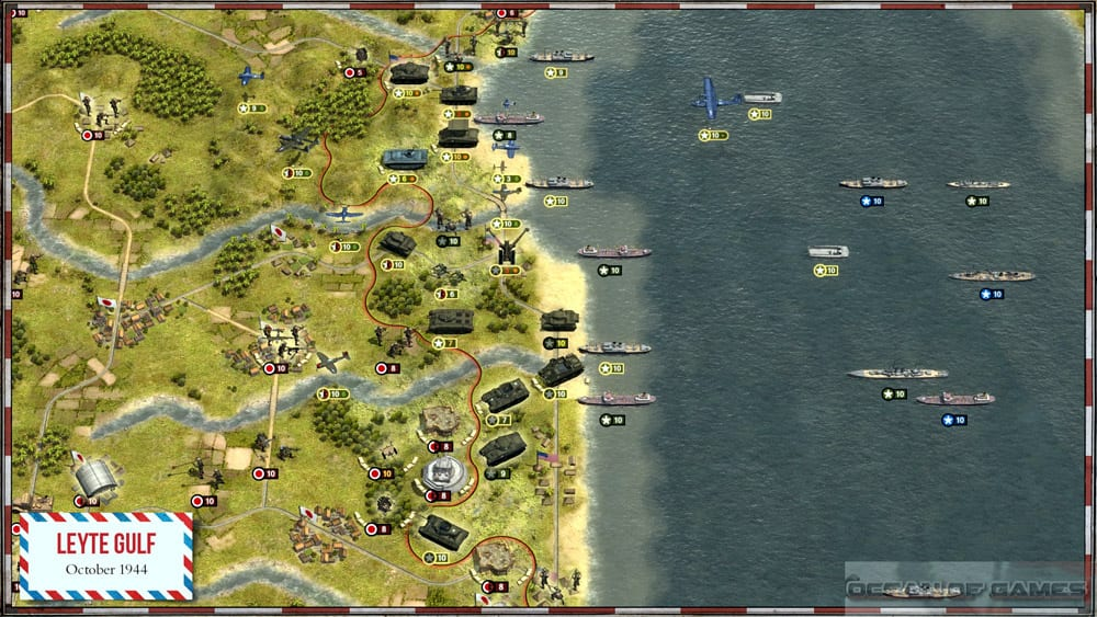 Order of Battle Pacific Features