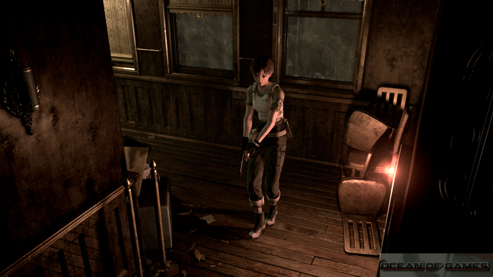 Resident Evil Zero HD Remaster Features