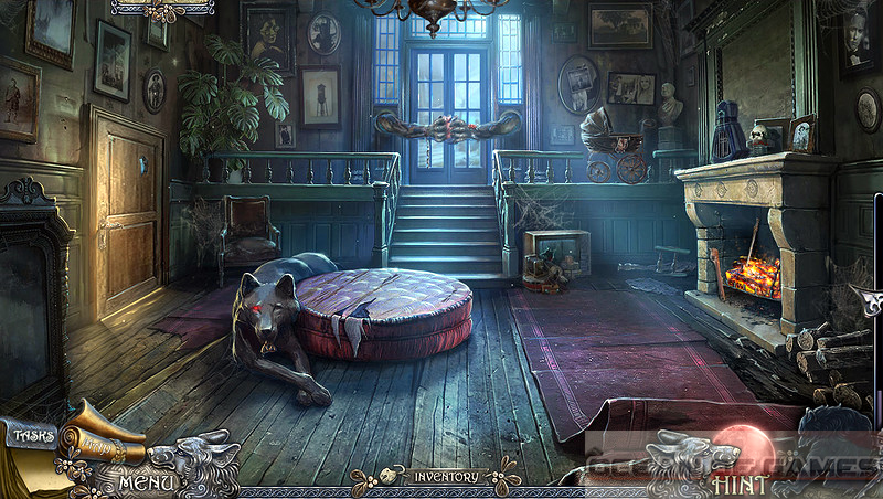 Shadow Wolf Mysteries 6 Curse of Wolfhill CE Features