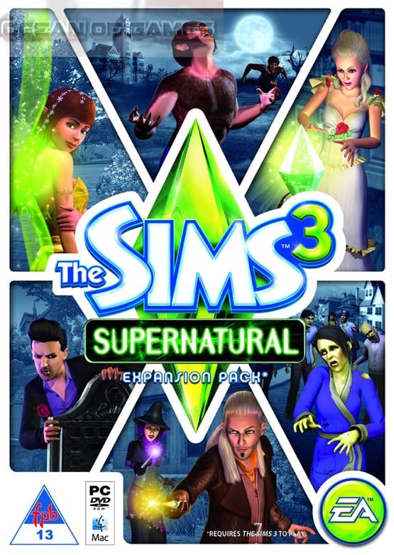 Sims 3 Supernatural Setup Download For Free
