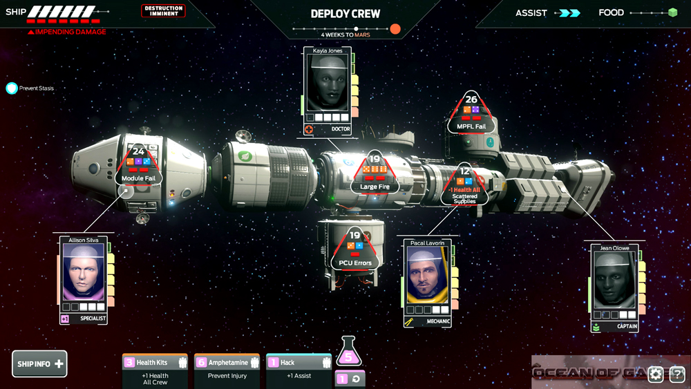 Tharsis PC Game Features