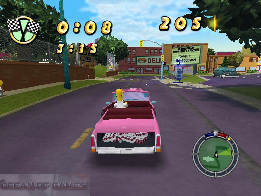 The Simpsons Hit and Run Download For Free