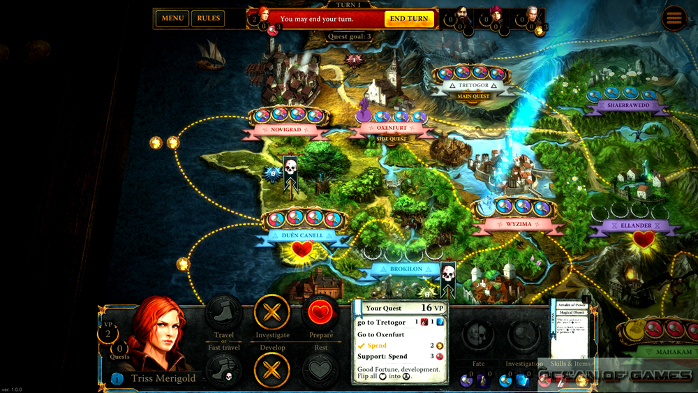 The Witcher Adventure Game Setup Free Download