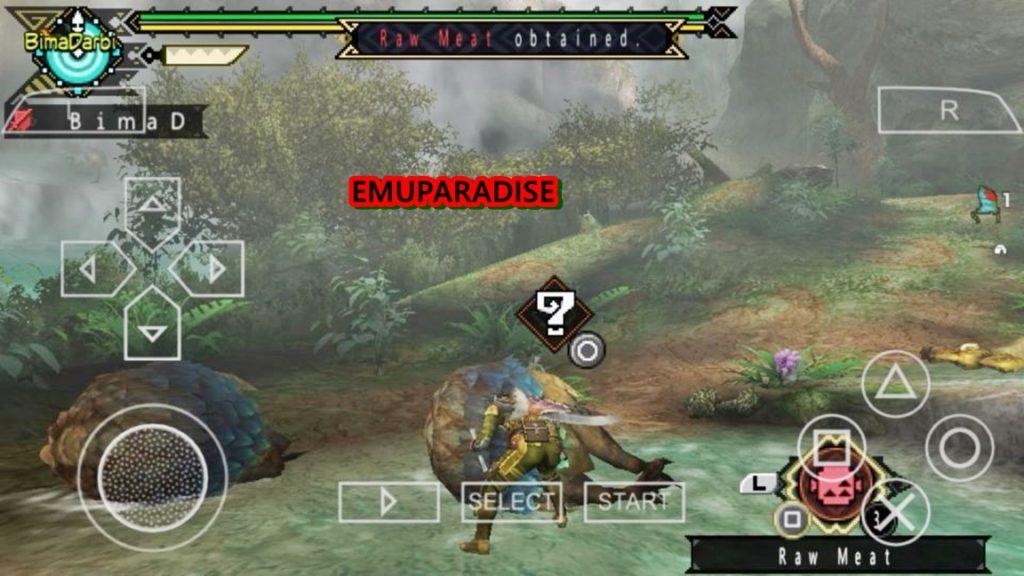 monster hunter portable 3rd iso